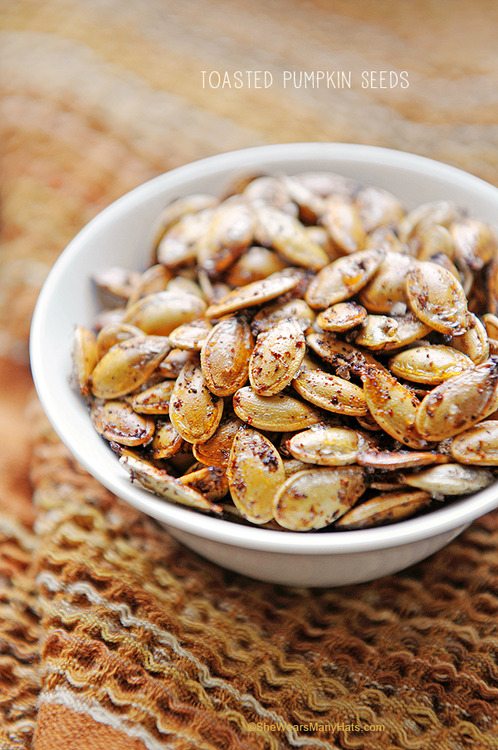 sriracha pumpkin seeds