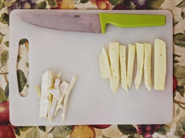 sliced brie