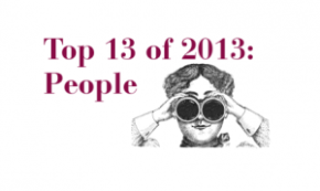 Top 13 People of 2013