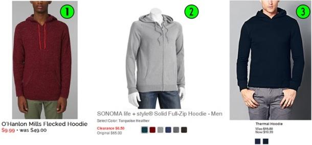 2- Hoodies
