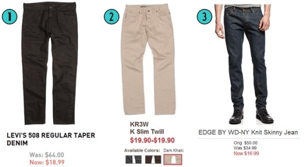 3- Pants
